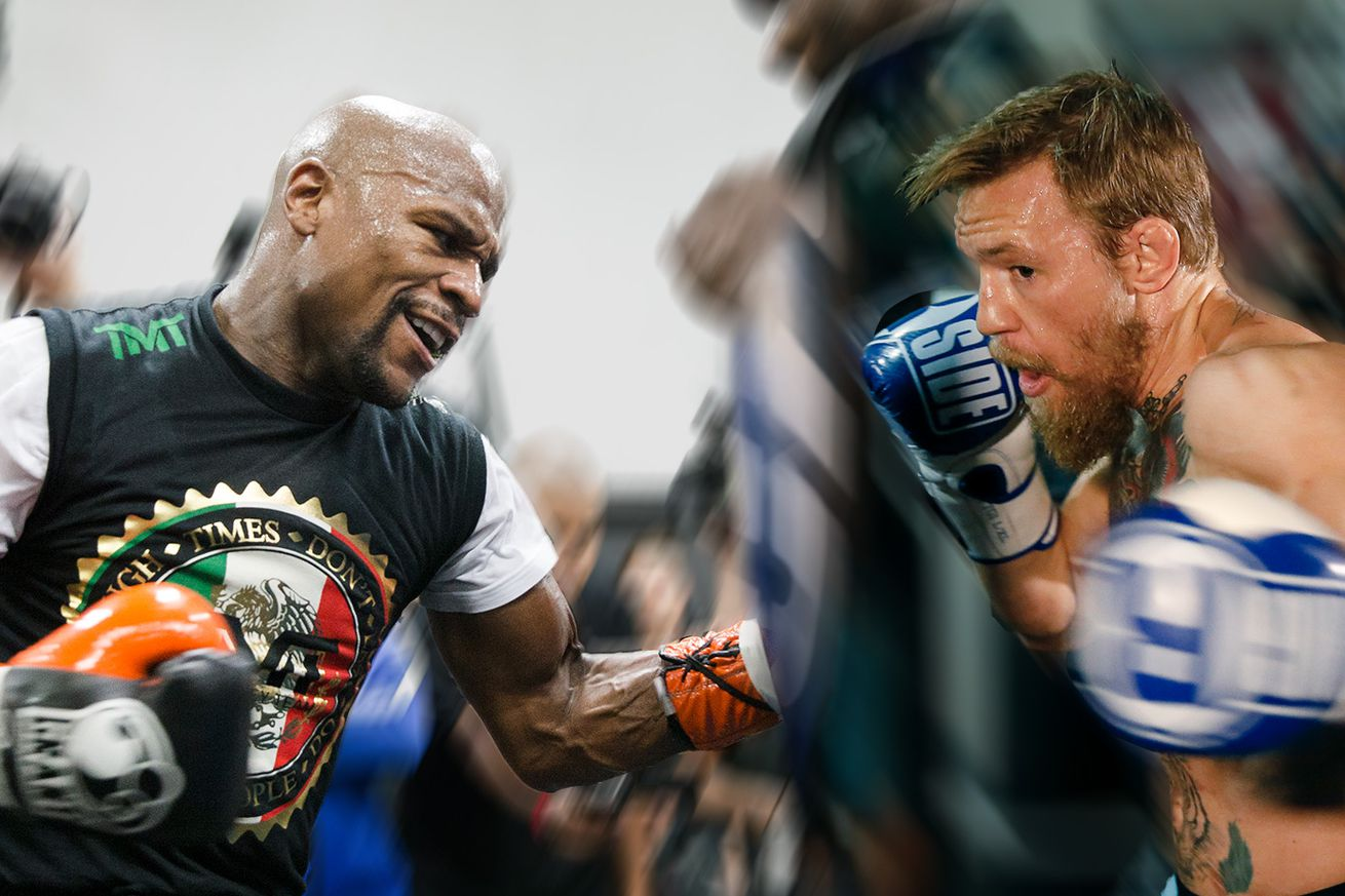 Mayweather vs. McGregor world tour to kick off next week at Staples Center