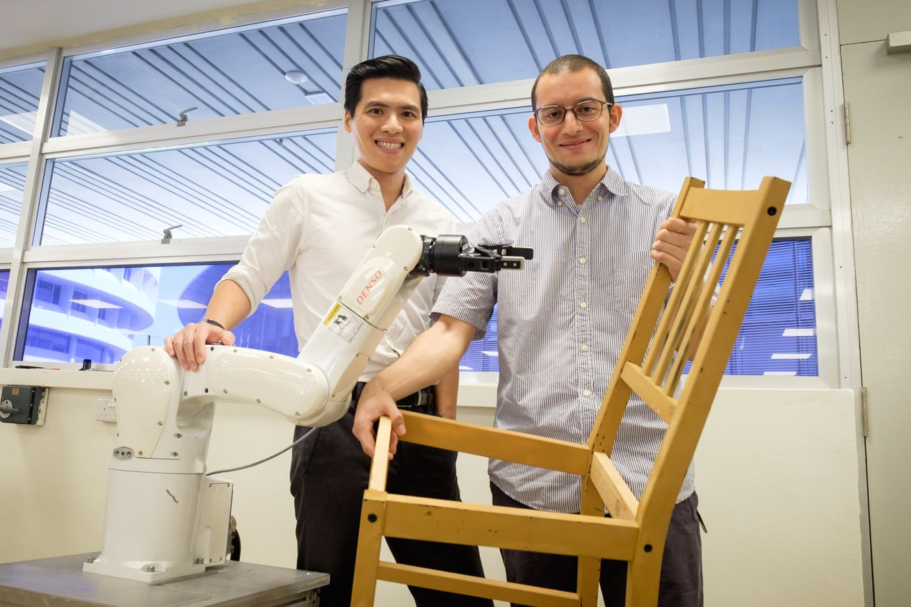 assembling ikea furniture should be a new benchmark for robot dexterity