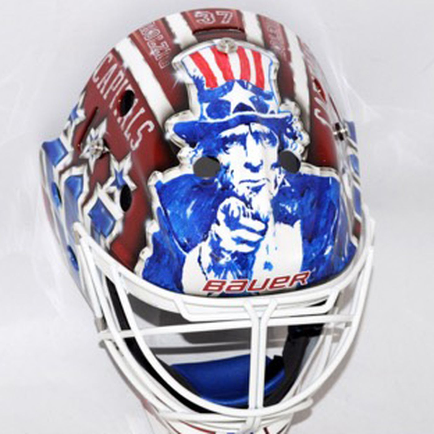 Braden Holtby S Winter Classic Throwback Mask Revealed Japers Rink