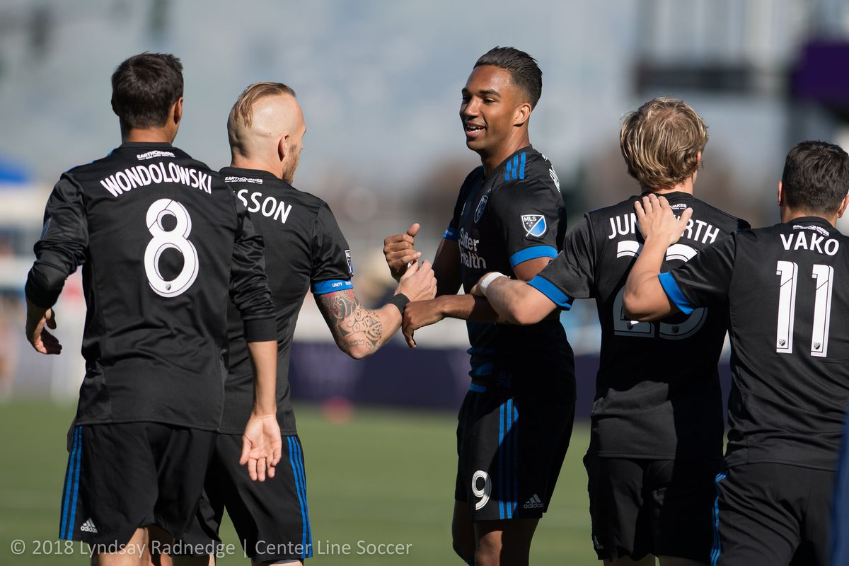14a1ac3da06 What will the San Jose Earthquakes starting line-up to start the MLS ...