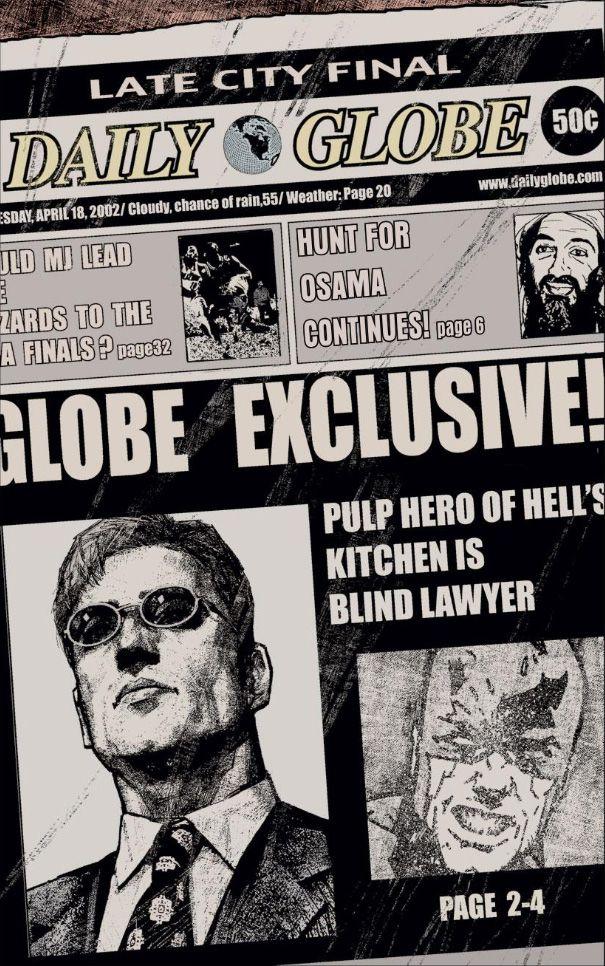 Daredevil Daily Globe