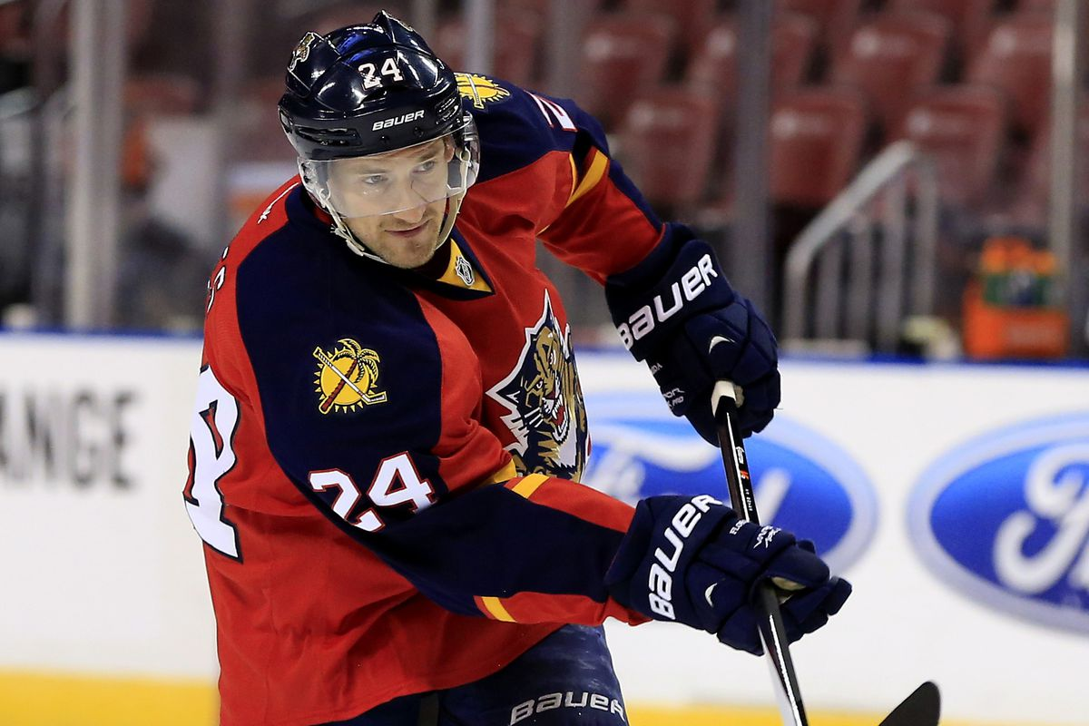 Quiet but efficient, Boyes is one of many underrated Panthers' forwards.