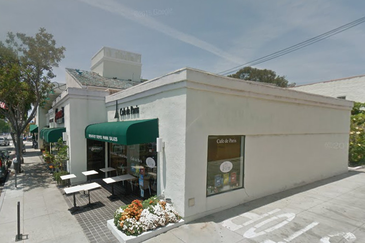 Cafe de Paris, Santa Monica