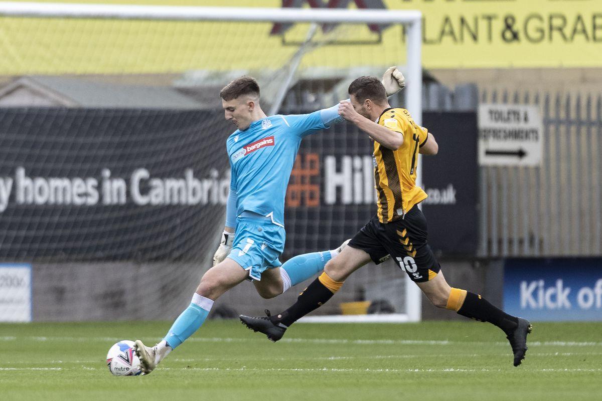 Cambridge United v Bolton Wanderers - Sky Bet League Two