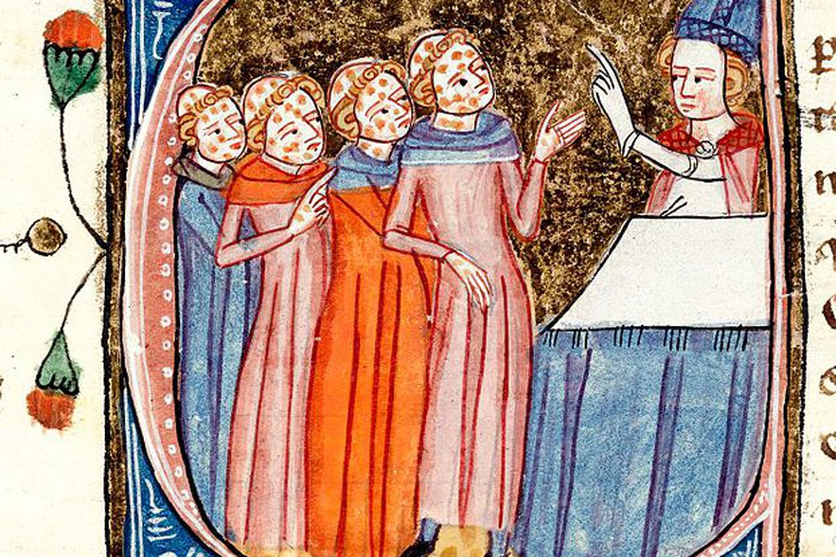 Mmmmm. Eligible bachelors. Oh. Wait. Those are monks. Nevermind.