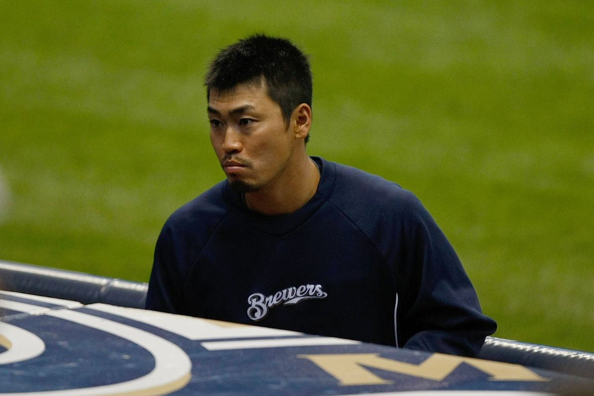 I think Aoki's face in this picture sums up how we're all feeling right now.