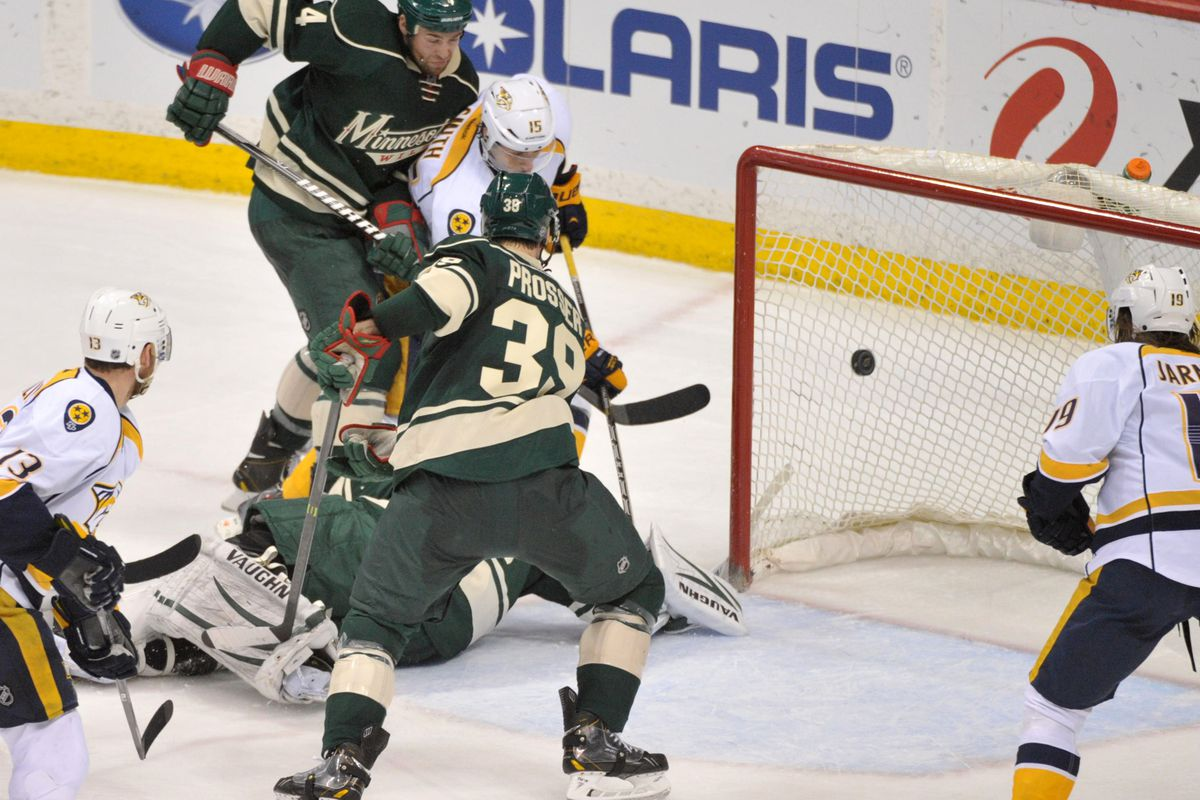 A lot has changed since the last time the Wild and Preds met. For example, the Wild released Nate Prosser... and then got him back.