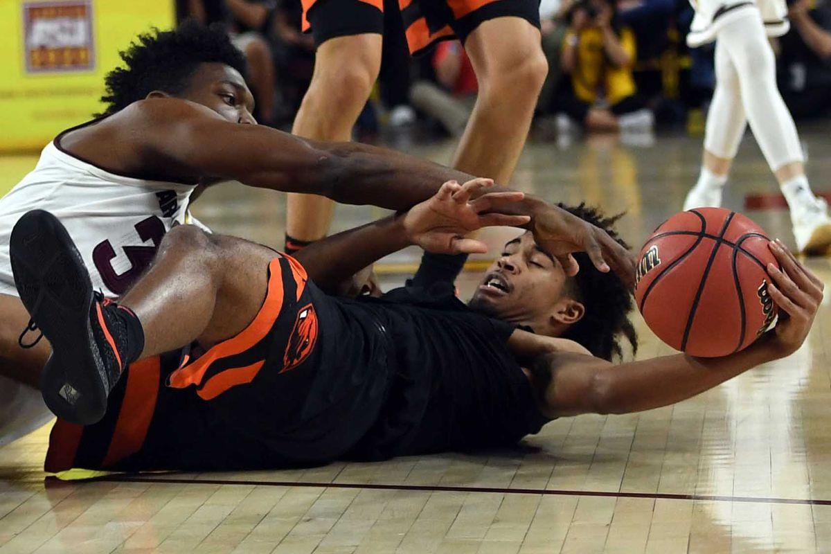 NCAA Basketball: Oregon State at Arizona State