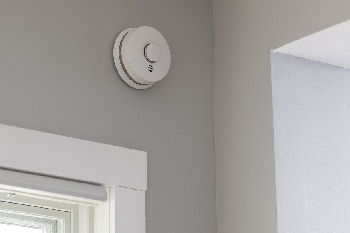 Smoke detector in home