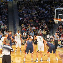 Marcus Georges-Hunt Shooting a Free Throw