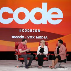 Peter Kafka (Sr. Correspondent, Recode), Paula Kerger (President and CEO, PBS), Yamiche Alcindor (White House Correspondent, PBS NewsHour)