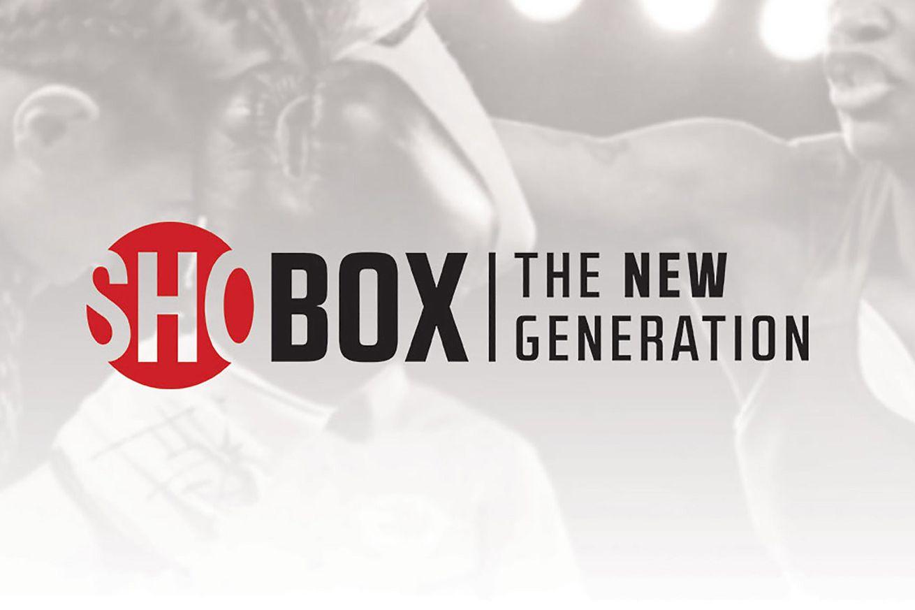 ShoBox lineup for Nov. 15 tripleheader official