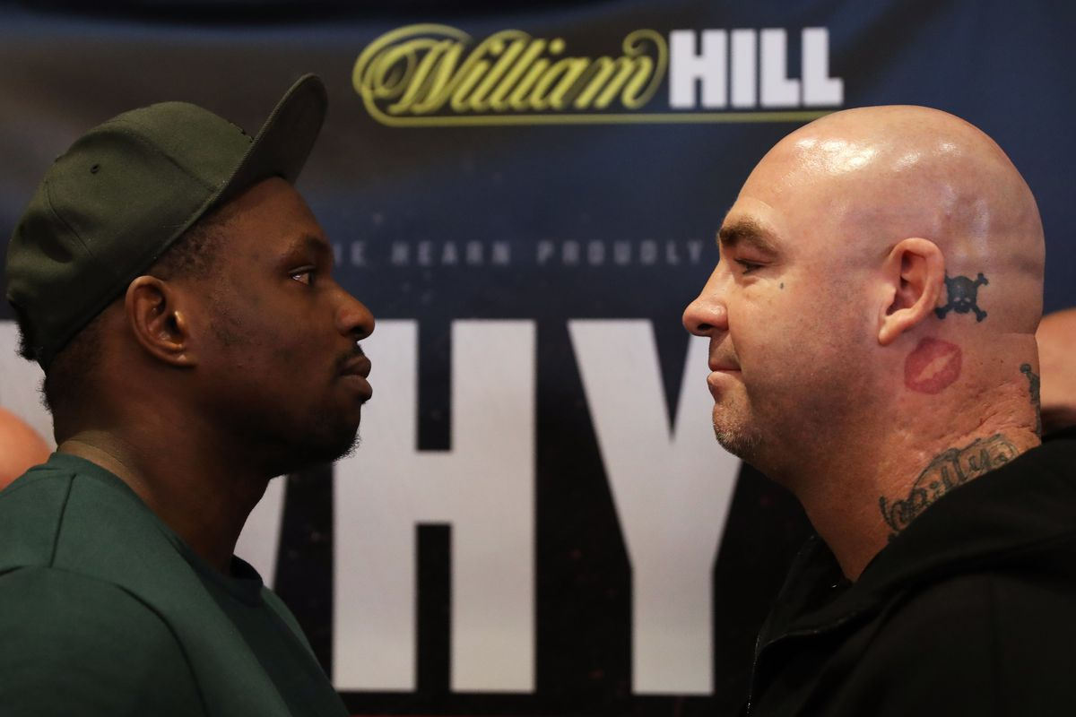 Dillian Whyte and Lucas Browne Press Conference