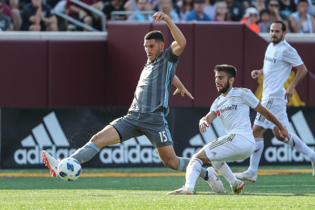 MLS: Los Angeles FC at Minnesota United FC