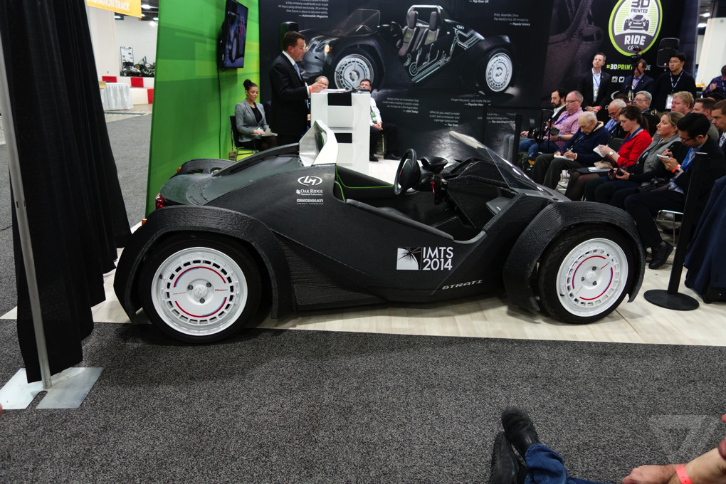 Local Motors just 3D-printed a car live at an auto show - The Verge