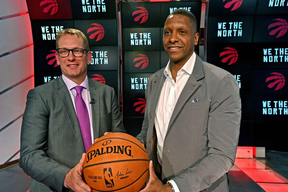 NBA: Toronto Raptors-Press Conference