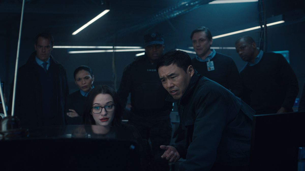 Darcy and Agent Jimmy Woo in WandaVision