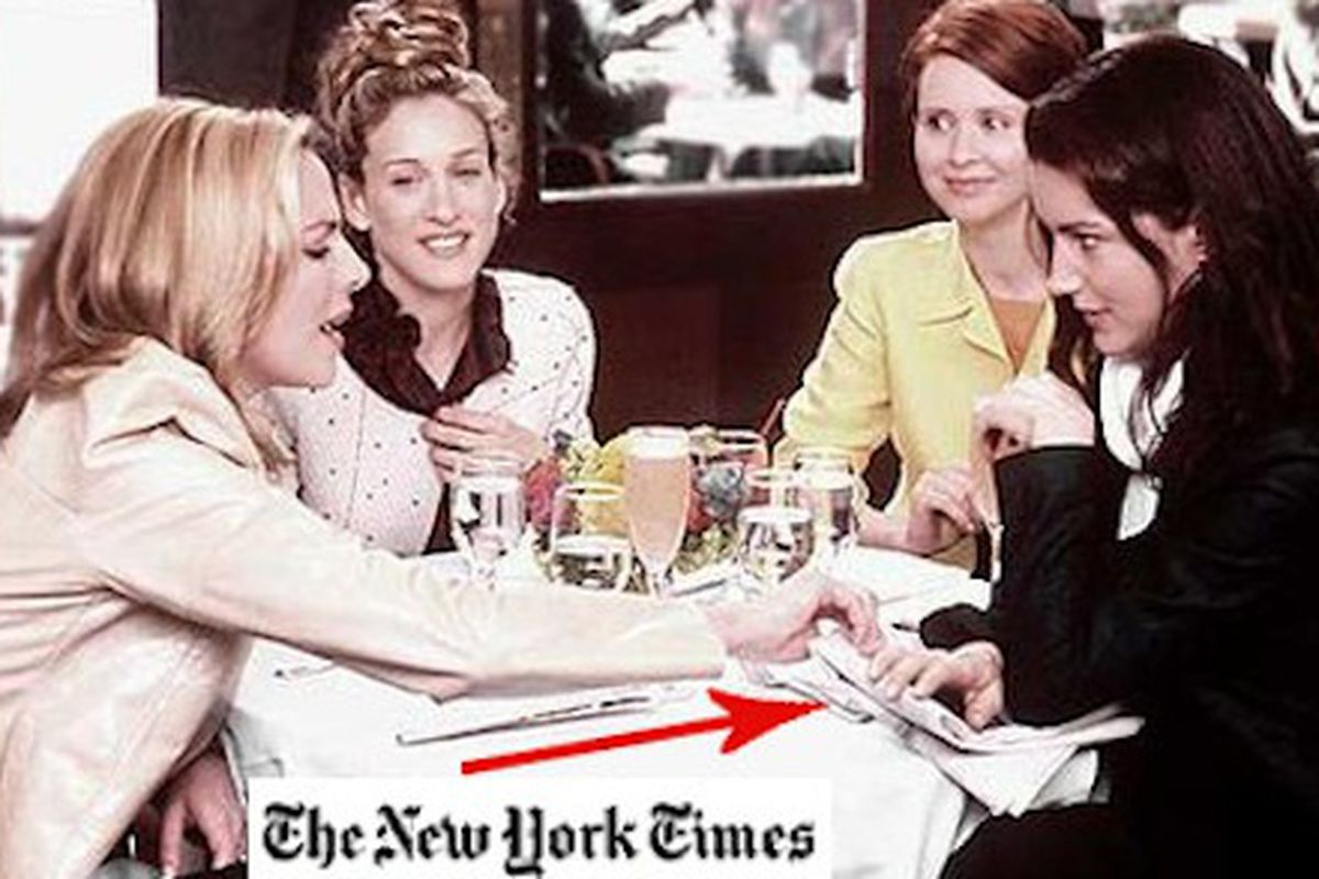 New York Times Wedding Announcement.Familiar Fashion Faces In The Ny Times Wedding Announcements Racked
