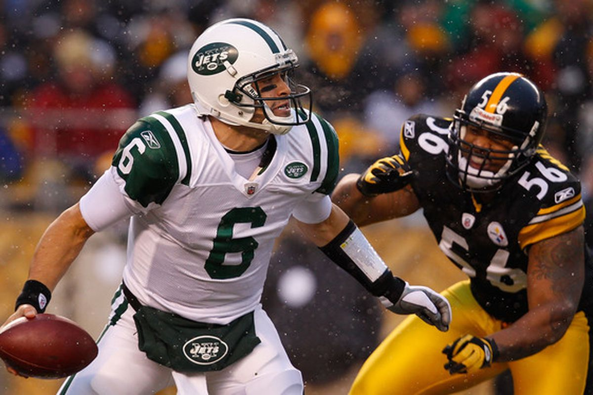 Expect better results from LaMarr Woodley and the rest of the Pittsburgh defense in Steelers-Jets, Round Two.