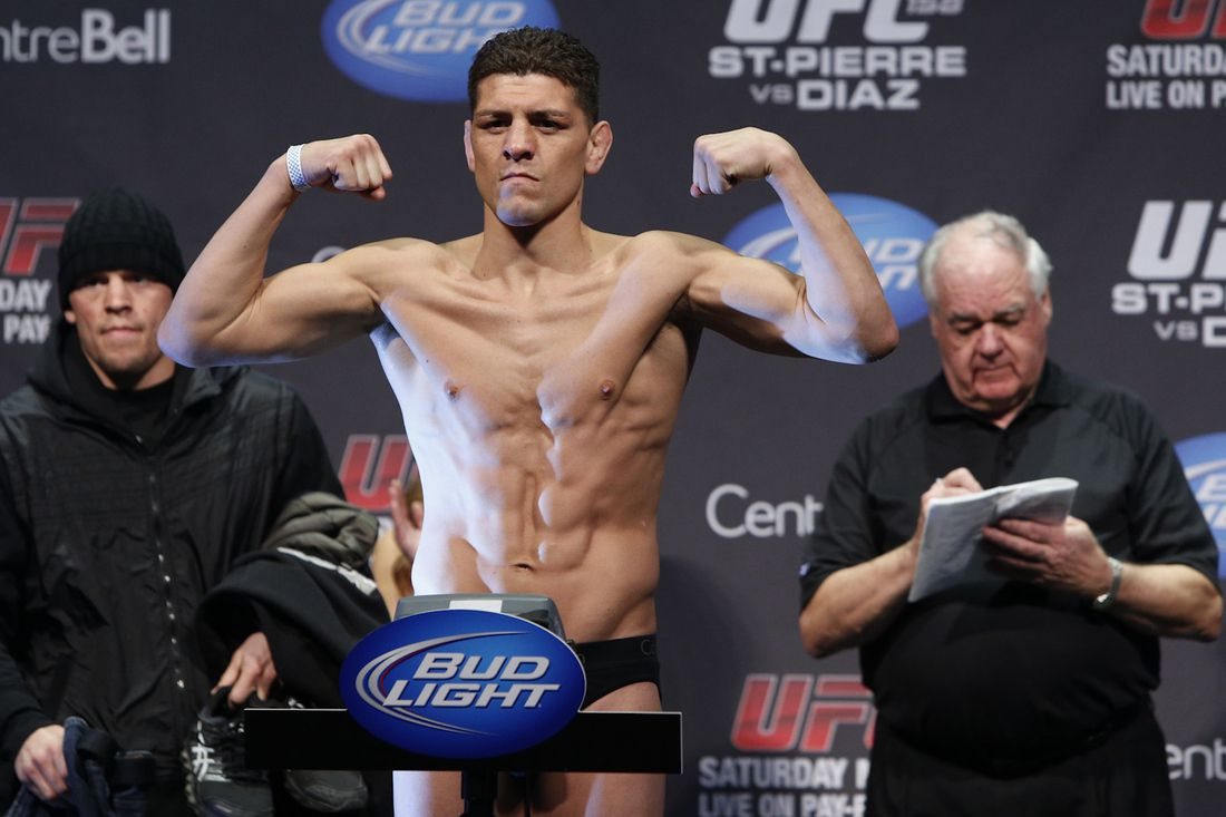 Nick Diaz vs. Robbie Lawler 2
