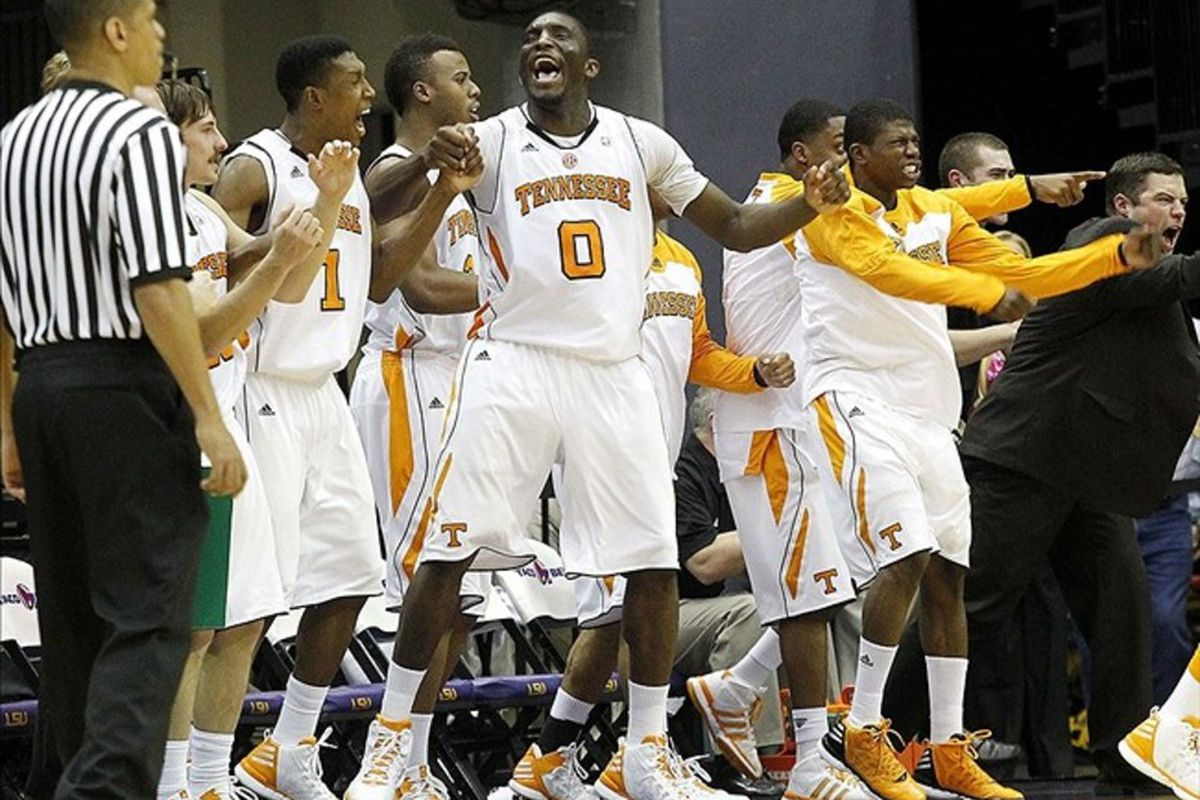 Will Tennessee be celebrating an at large bid to the Big Dance?
