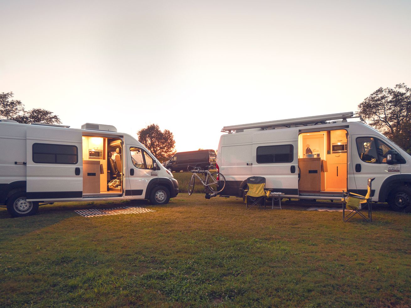 Cozy camper van is a $65K off-grid retreat