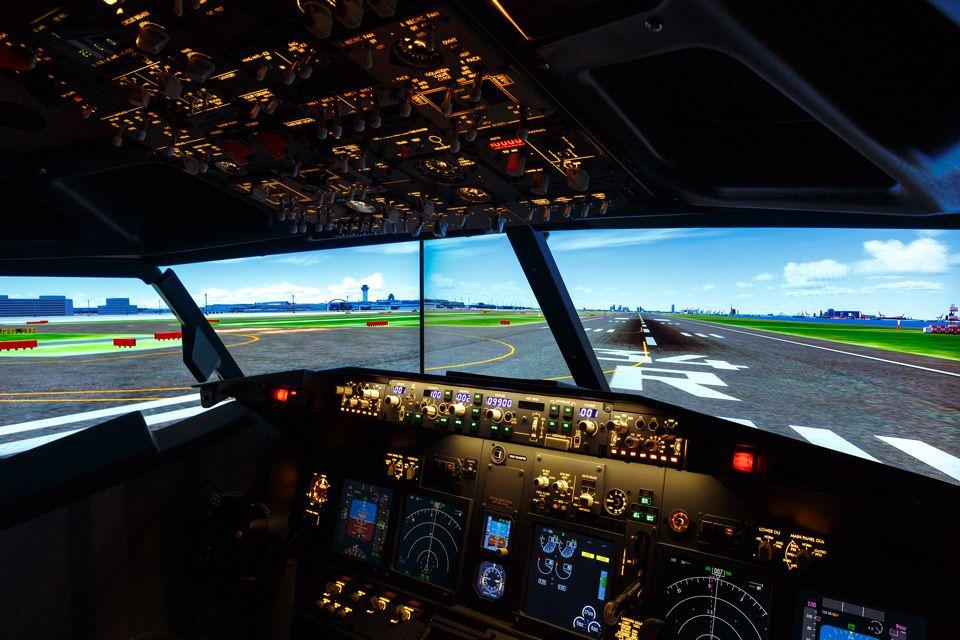 A Japanese hotel has built a lifesize flight simulator into