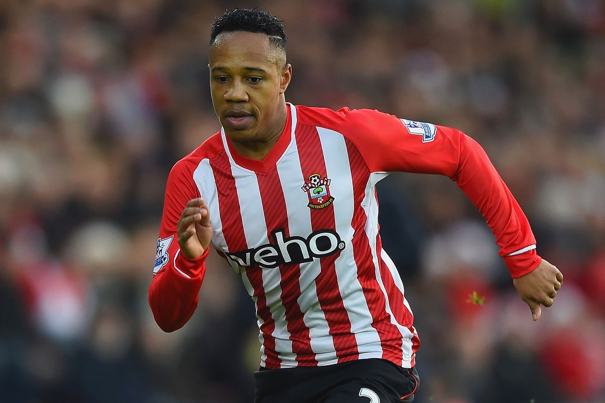 Nathaniel Clyne in action for Saints