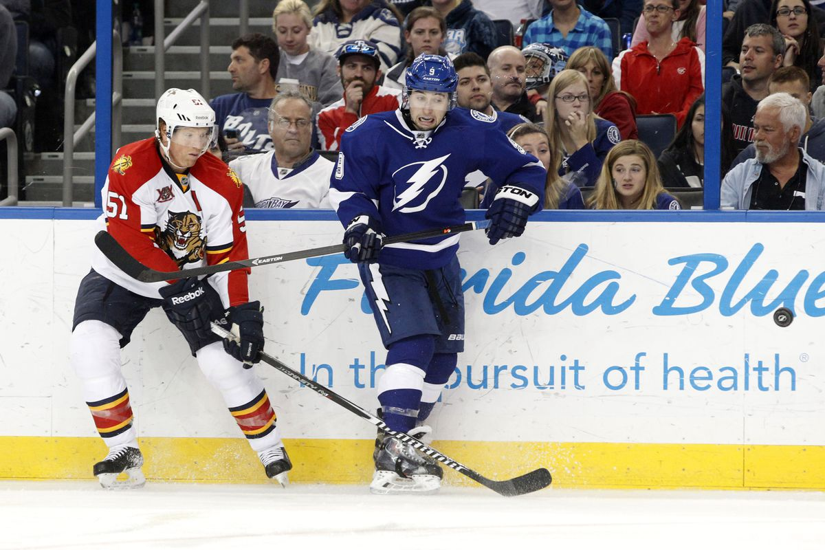 The Panthers and Lightning will renew in-state hostilities on October 9th at the Tampa Bay Times Forum