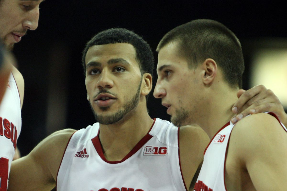 No one else needs to talk about the Badgers for Jackson, Brust, and Kaminsky to keep rolling on the hardwood.