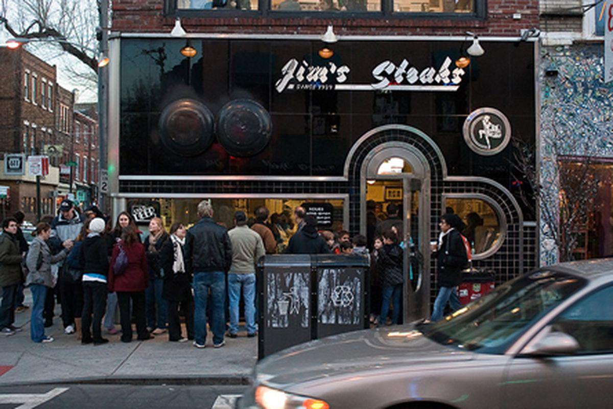 Jim's Steaks on South Street