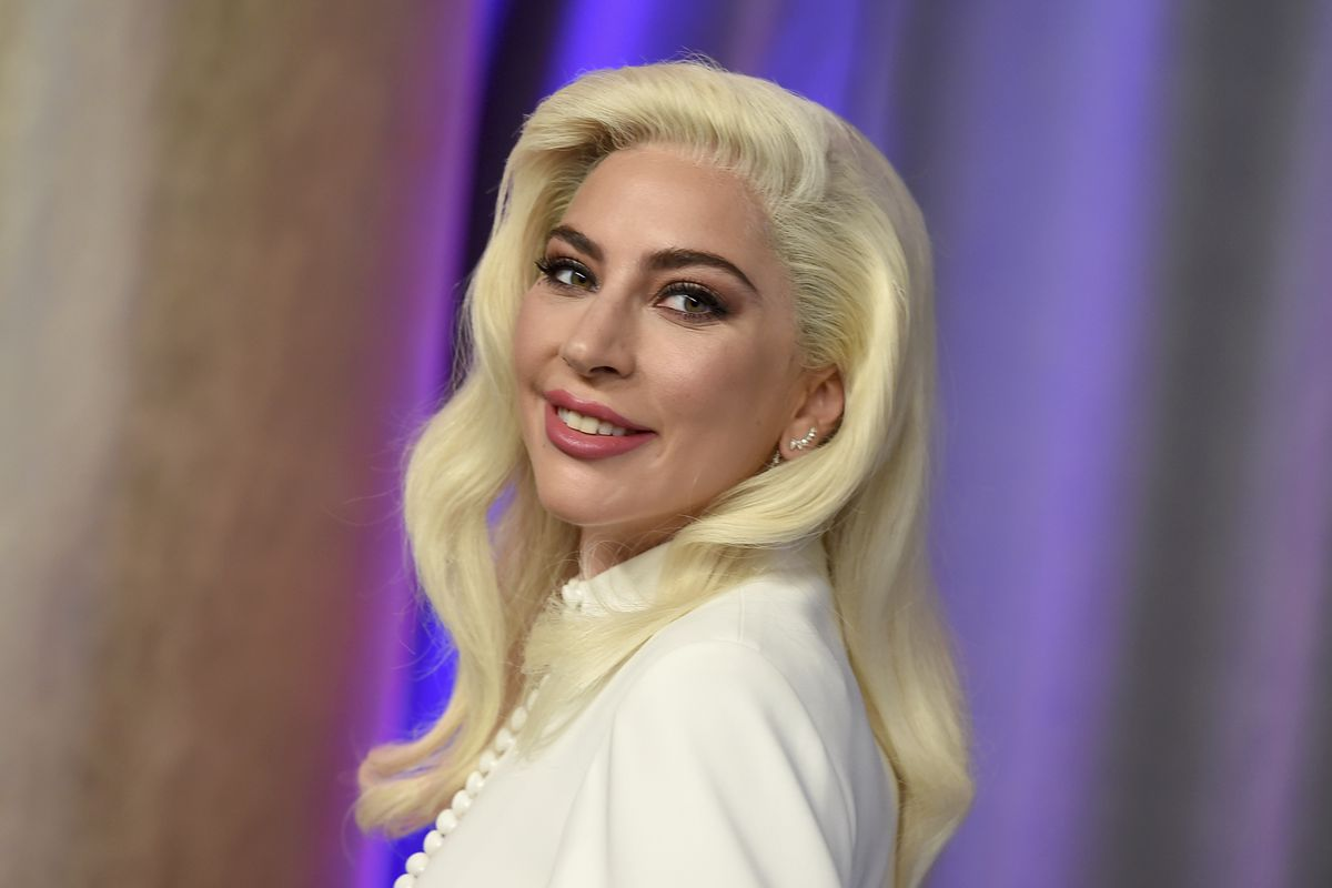 This Feb. 4, 2019 file photo shows Lady Gaga at the 91st Academy Awards Nominees Luncheon in Beverly Hills, California.