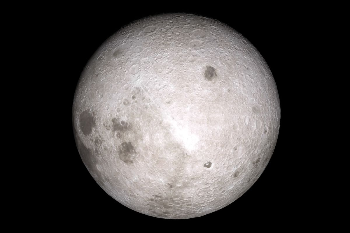 In A World First China Lands Ecraft Gently On The Moon S Far Side