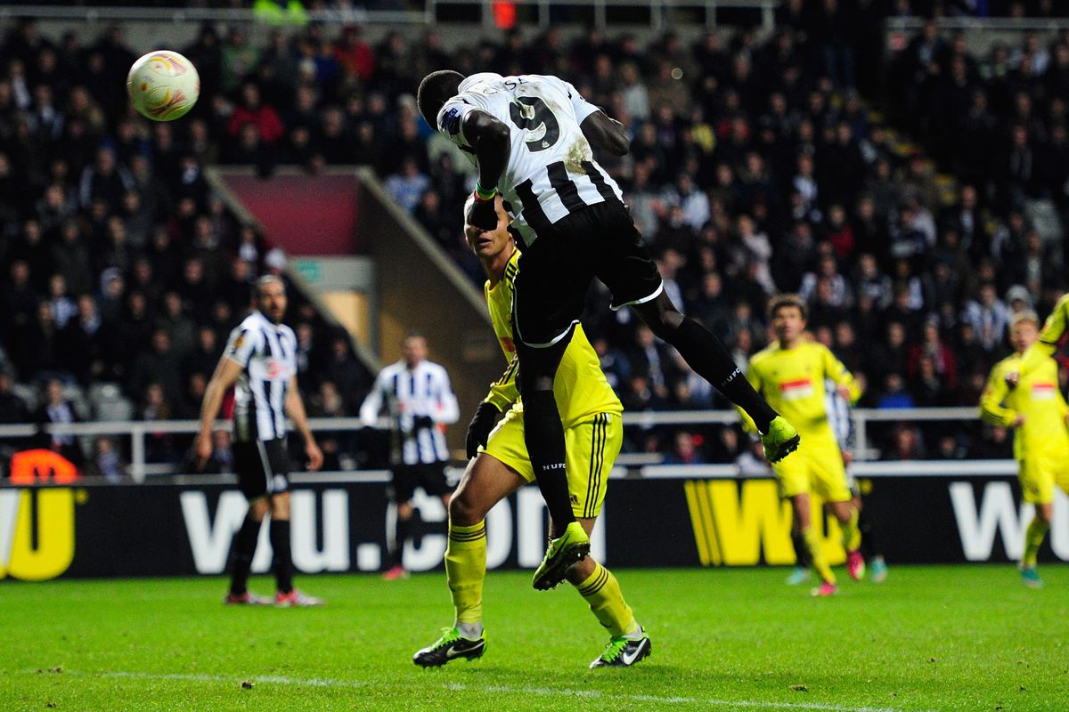 Papiss Cisse knocked out Anzhi, with a last minute goal in the Europa League.