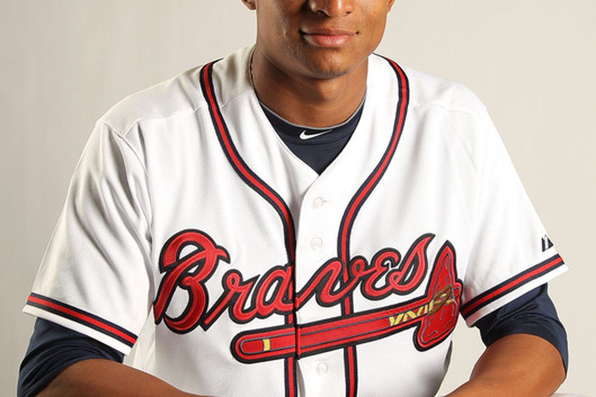The young and talented Braves catcher, Christian Bethancourt, is in the starting lineup tonight.