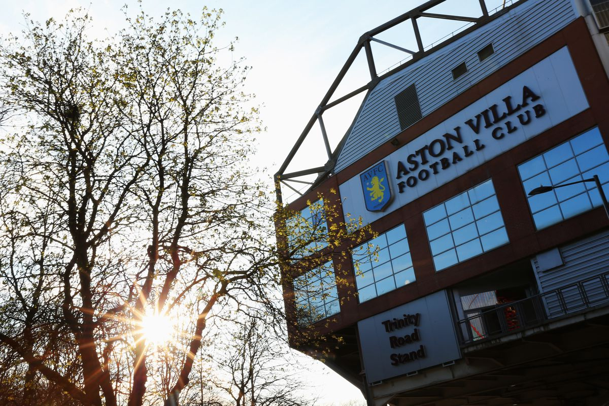 A general view outside the stadium prior to the Barclays Premier League match between Aston Villa and Queens Park Rangers at Villa Park on April 7, 2015 in Birmingham, England.