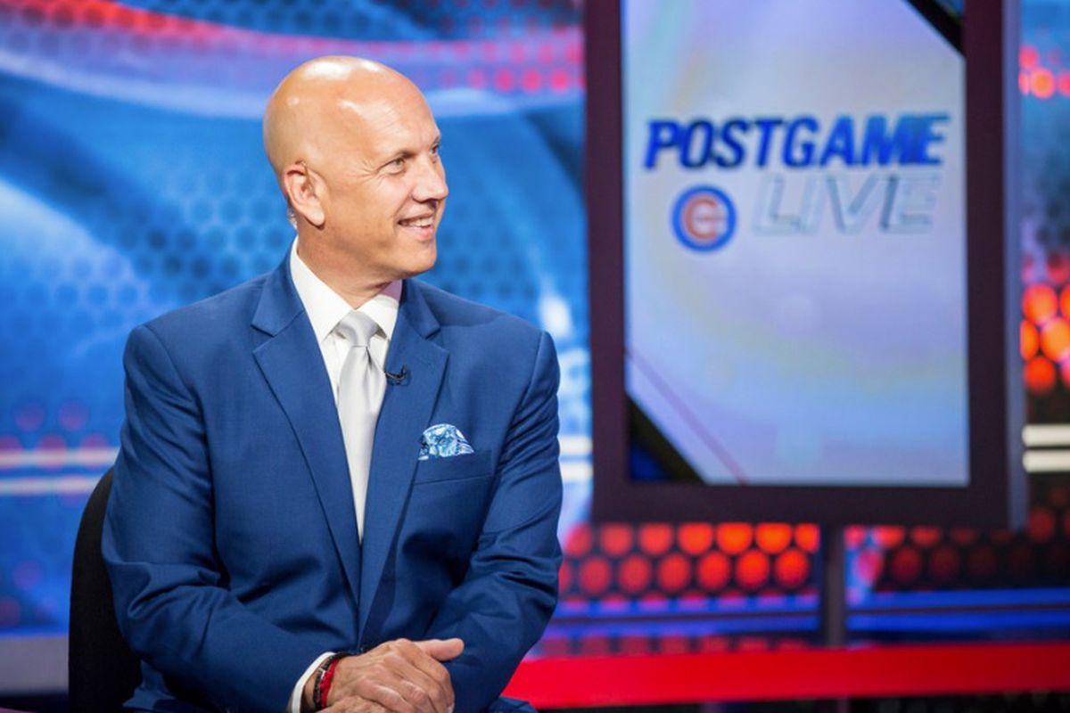 NBC Sports Chicago studio host David Kaplan