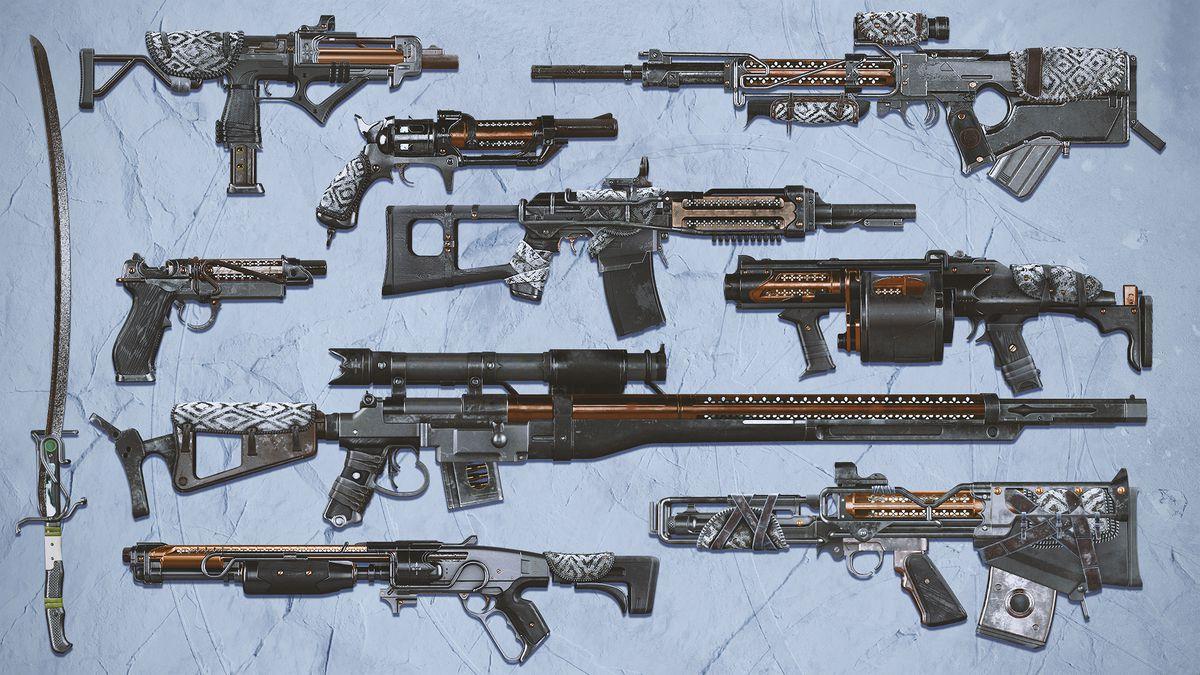 Destiny 2 reckoning guns
