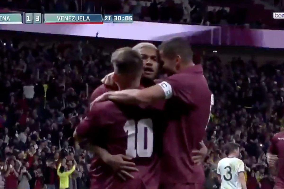WATCH  Josef Martinez converts penalty for Venezuela in win vs ... 788373347
