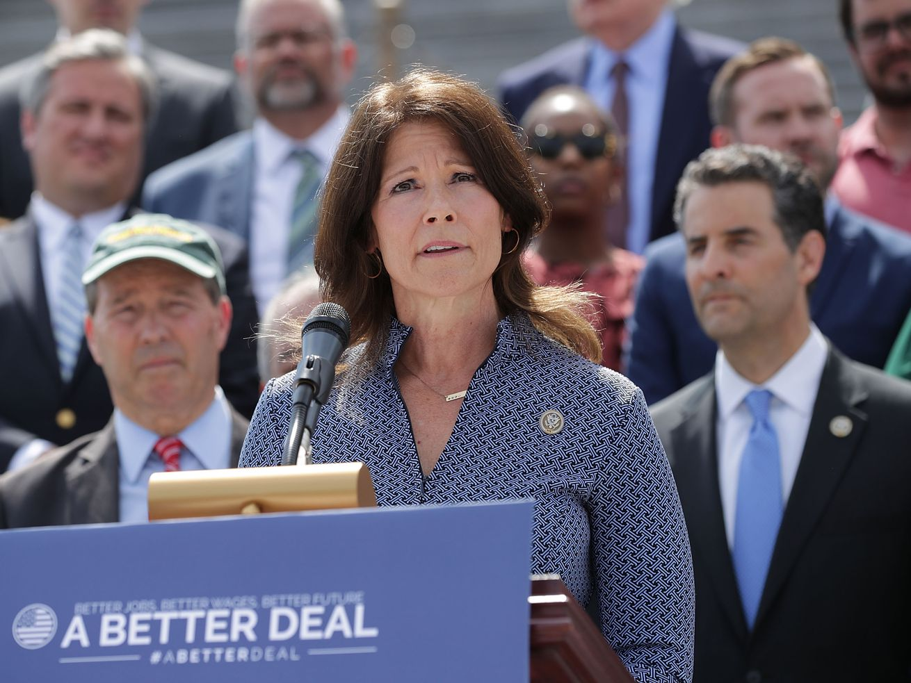 U.S. Rep. Cheri Bustos, who once led the Democratic House political operation, says 10 years is enough in Congress. That poses a potential complication for Illinois Democrats in 2022.