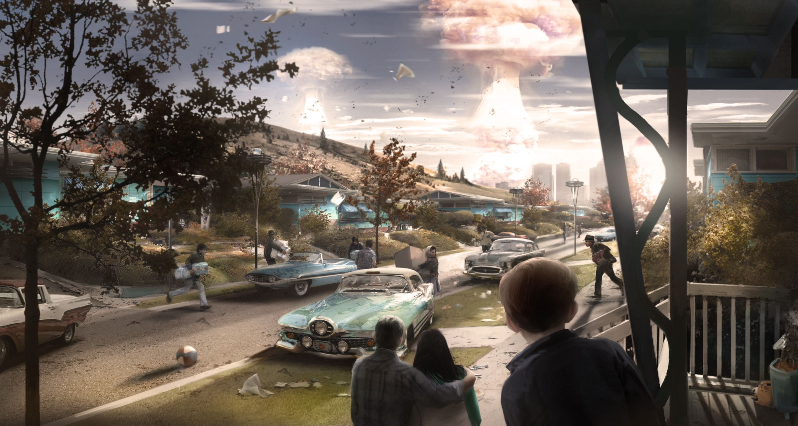 Fallout 4s Concept Art Is Wallpaper Worthy