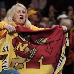 Crazy blanket lady, crusader for all things Gopher.