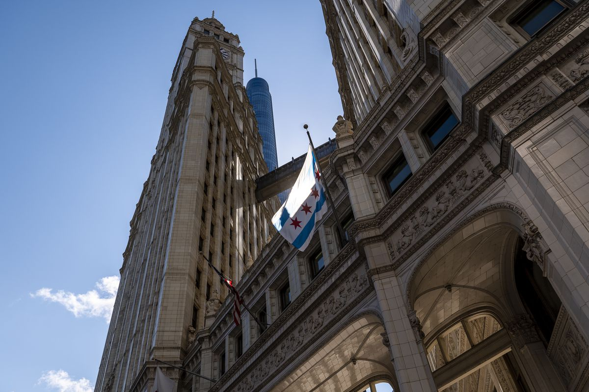 In the decades after the fire, structures such as the Wrigley Building were clad in  terra cotta. The material was fireproof and could be molded into ornamental shapes and styles.