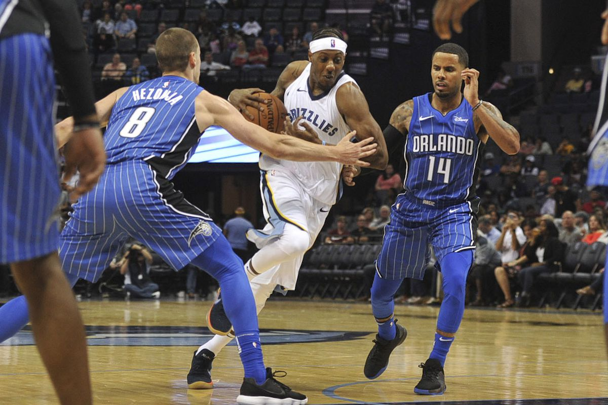 NBA: Preseason-Orlando Magic at Memphis Grizzlies