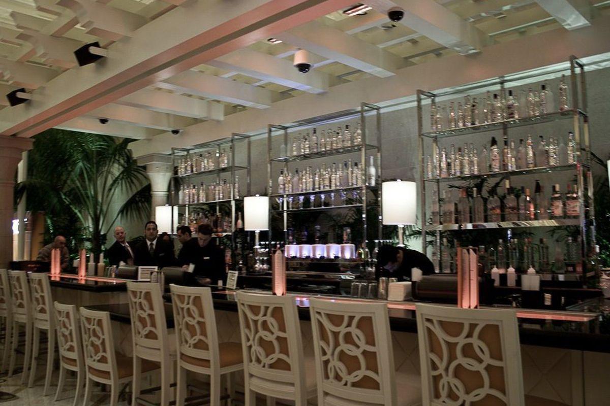 The bar at VDKA.