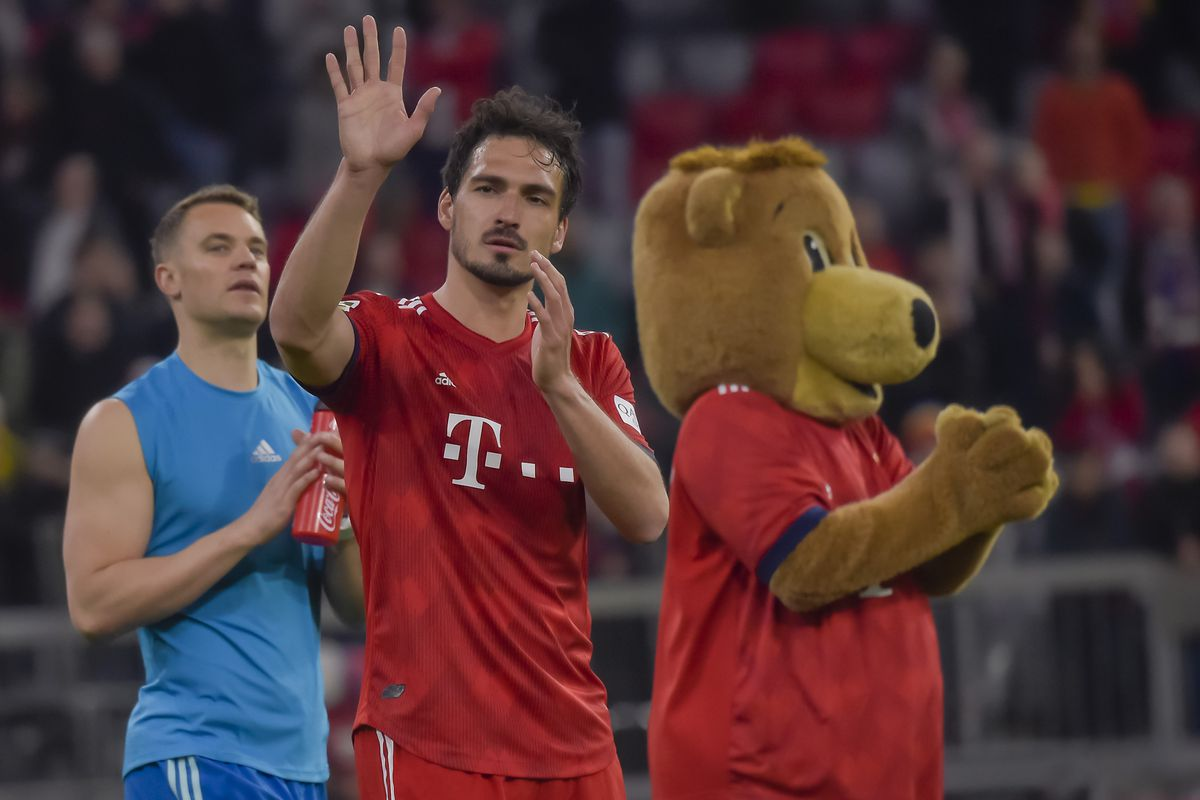 Bfw Roundtable Thoughts On Mats Hummels S Transfer To Borussia Dortmund Bavarian Football Works