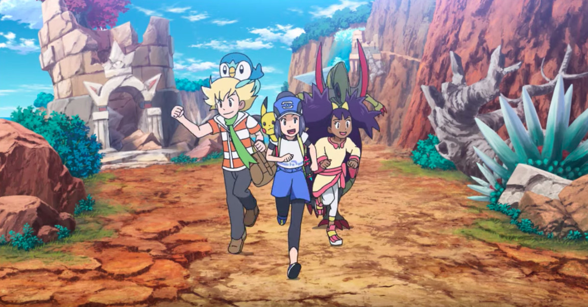 Pokémon Masters: First gameplay details on 3v3 trainer battles