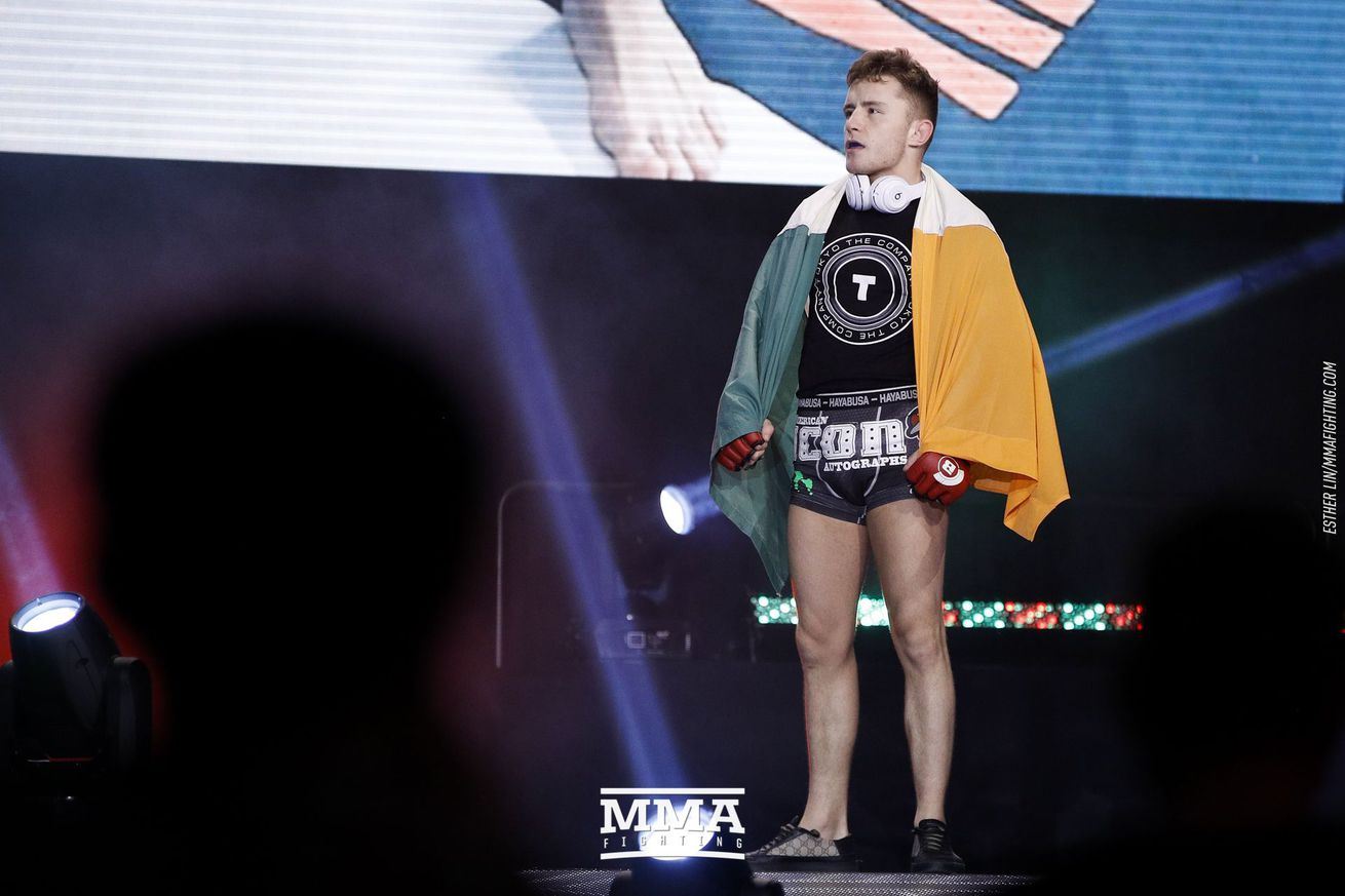 community news, Bellator's James Gallagher eyeing titles in two weight classes by next year