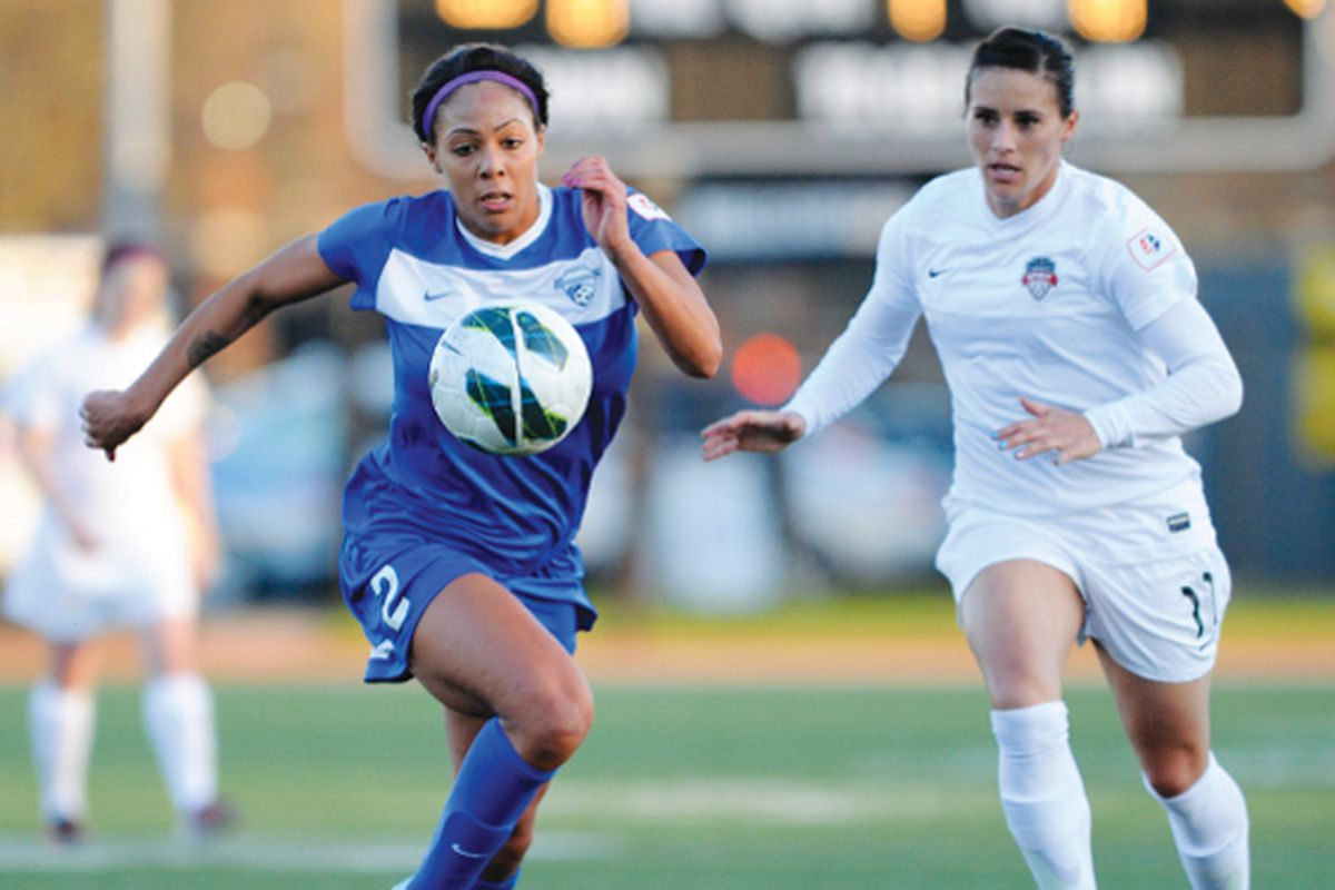 Breakers Forward Sydney Leroux returned to positive form, helping the Breakers earn a much-needed 5-2 victory