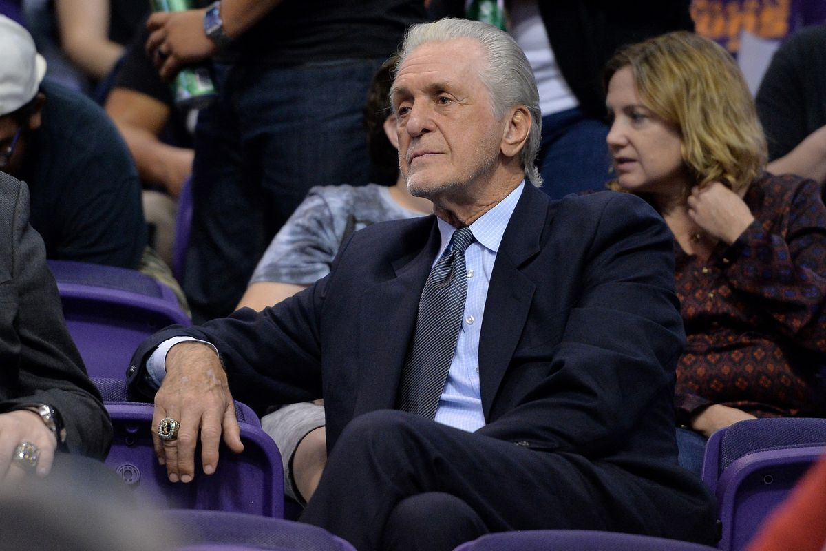 Pat Riley says he's never had a problem with Rob Pelinka, but thinks Magic Johnson speaking out may force Lak…